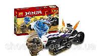 Конструктор Lepin Ninja Ниндзя Турбо Шреддер: 307 деталей, 3 фигурки