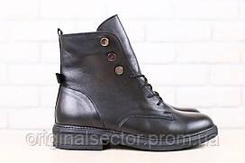Женские кожаные классические ботинки демисезонные