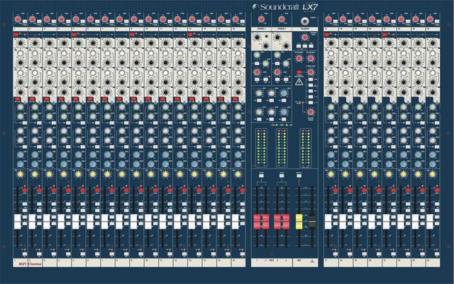 Soundcraft LX7II 24 – профессиональный микшерный пульт