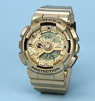 СПОРТИВНЫЕ ЧАСЫ CASIO G-SHOCK GA-110 ALL GOLD AAA