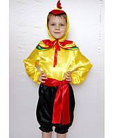 Детский карнавальный костюм для мальчика «петушок»