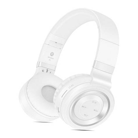 Бездротові навушники Sound Intone P6 White-Silver, фото 2