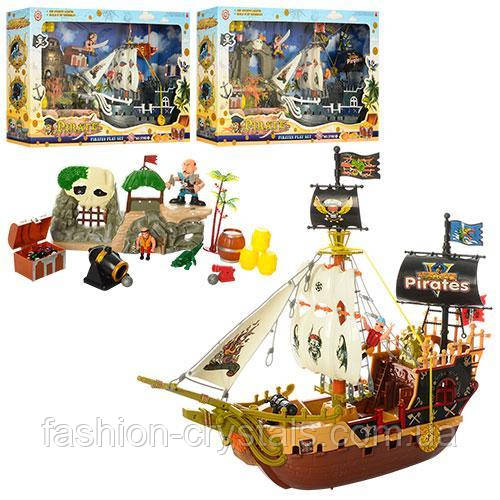 Корабль пиратов с фигурками