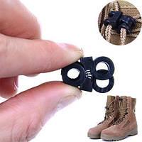 10x Зажим пряжка фиксатор для шнурков обуви