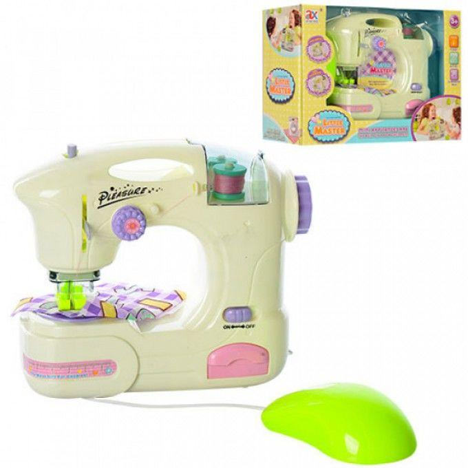 Швейная машинка 6941A 17-16-6,5см, свет, шьет, педаль управ, на бат-ке