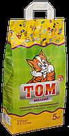Гигиенический комкующийся наполнитель Том №3 премиум класса