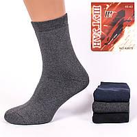 Мужские махровые носки Shuguan A9872-1 40-43. В упаковке 12 пар
