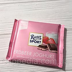 Ritter Sport Erdbeer Jogurt с йогуртом и клубникой