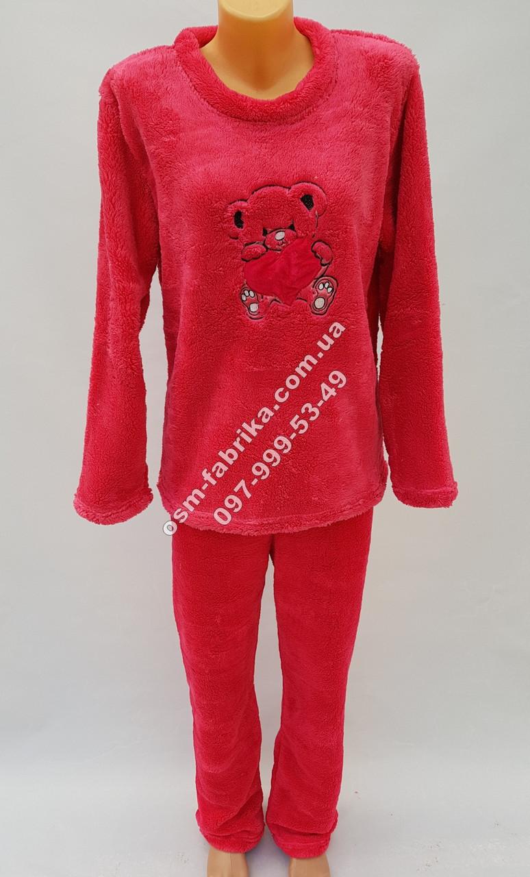 Теплая махровая пижама от производителя