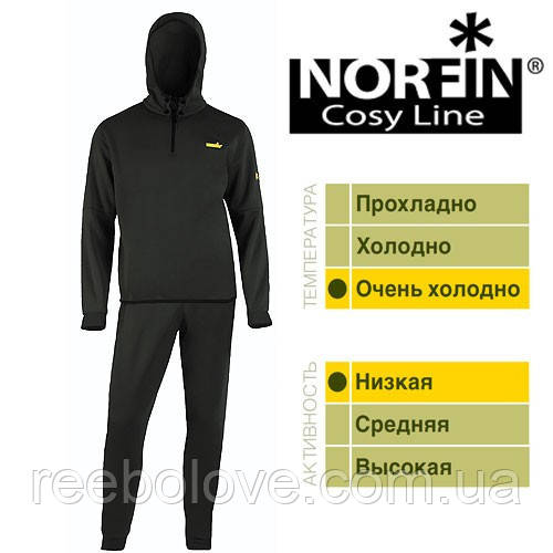 Термобелье NORFIN COSY LINE-M (чёрное)