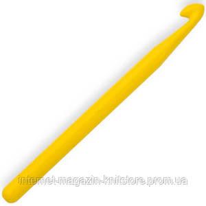 Гачок Kartopu для в'язання без ручки 15см/9мм жовтий