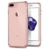 Чехол Spigen для iPhone 8 Plus Ultra Hybrid 2, Rose Crystal, фото 1