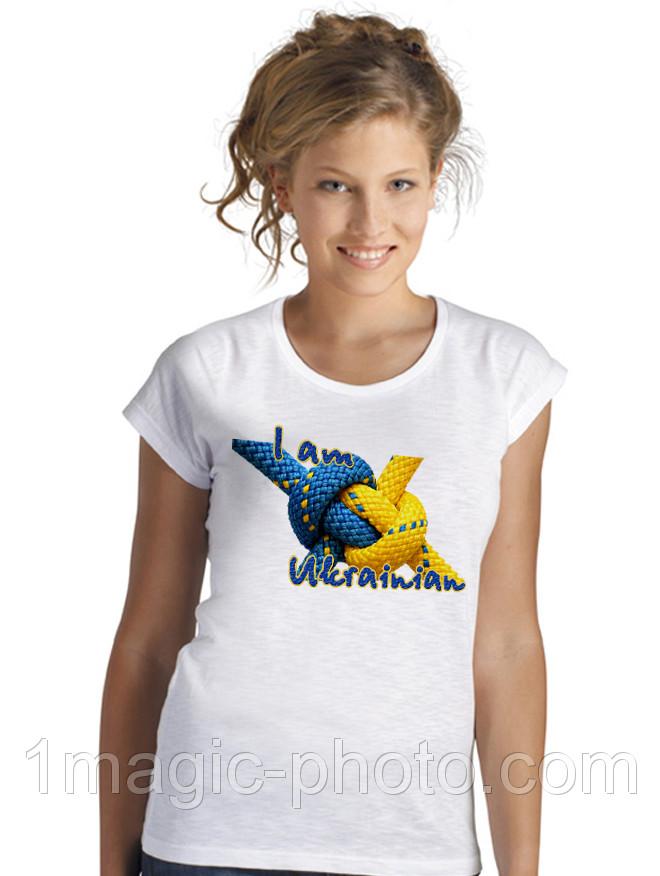 Футболка патріотична I am Ukrainian