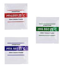 Буферный порошок pH 4.01 - 6.86 - 9.18 для калибровки РН - метра