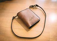 Мужское кожаное портмоне ручной работы Knockwood - Brixton, Brown