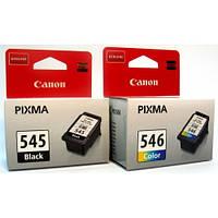 КОМПЛЕКТ Canon PG-545+CL 546 .ДЛЯ Pixma MG2450, MG2550,   Японія.