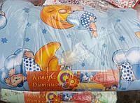 Зимнее детское теплое одеяло на овчине