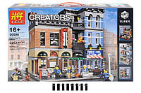 Конструктор Lele 30008 Creator Офис детектива (аналог LEGO Creator 10246) 2262 дет., фото 1