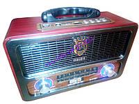 Радио приёмник ретро MEIER M-111BT, фото 1
