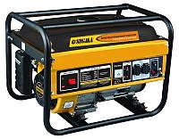 Генератор Sigma газ/бензин 2.5/2.8кВт 4-х тактный ручной запуск (5711221)