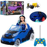 Машина для куклы (Куклав машине)88120на радиоуправлении, аккумулятор, свет, МР3, 2 вида,в коробке38-25-19
