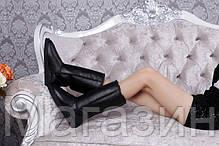 Женские сапоги угги UGG Classic Tall, высокие Угги УГГ Австралия с пропиткой обливные черные, фото 2
