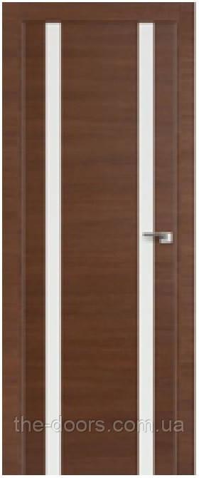 Дверь межкомнатная Cortex модель Alumo 02 остекленная