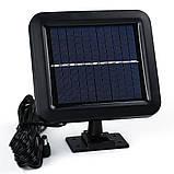 Вуличний світлодіодний світильник на сонячній батареї з датчиком руху 56 LED, фото 4