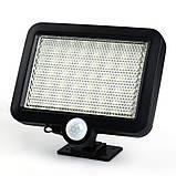Вуличний світлодіодний світильник на сонячній батареї з датчиком руху 56 LED, фото 5