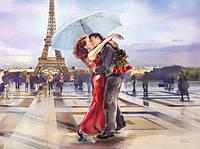 Алмазная вышивка на подрамнике Париж - город любви 50 х 40 см (арт. TN645)