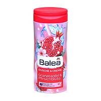 Гель-крем для душа Balea Dm 300мл сок граната с цветками персика