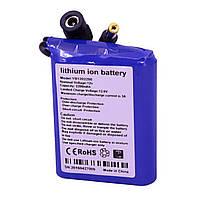 Литий ионный аккумулятор 12 В с ёмкостью 2.2 А*ч универсальный (YABO-1202200)