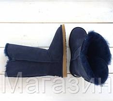 Женские угги UGG Australia Bailey Button Triplet, высокие угги угг австралия с пуговицами оригинал синие, фото 2
