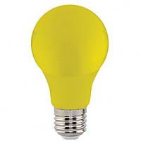 Лампы LED 3W желтый, синий, зеленый, красный E27