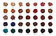 Тени Morphe The Jaclyn Hill Eyeshadow Palette: 35 оттенков (реплика), фото 6