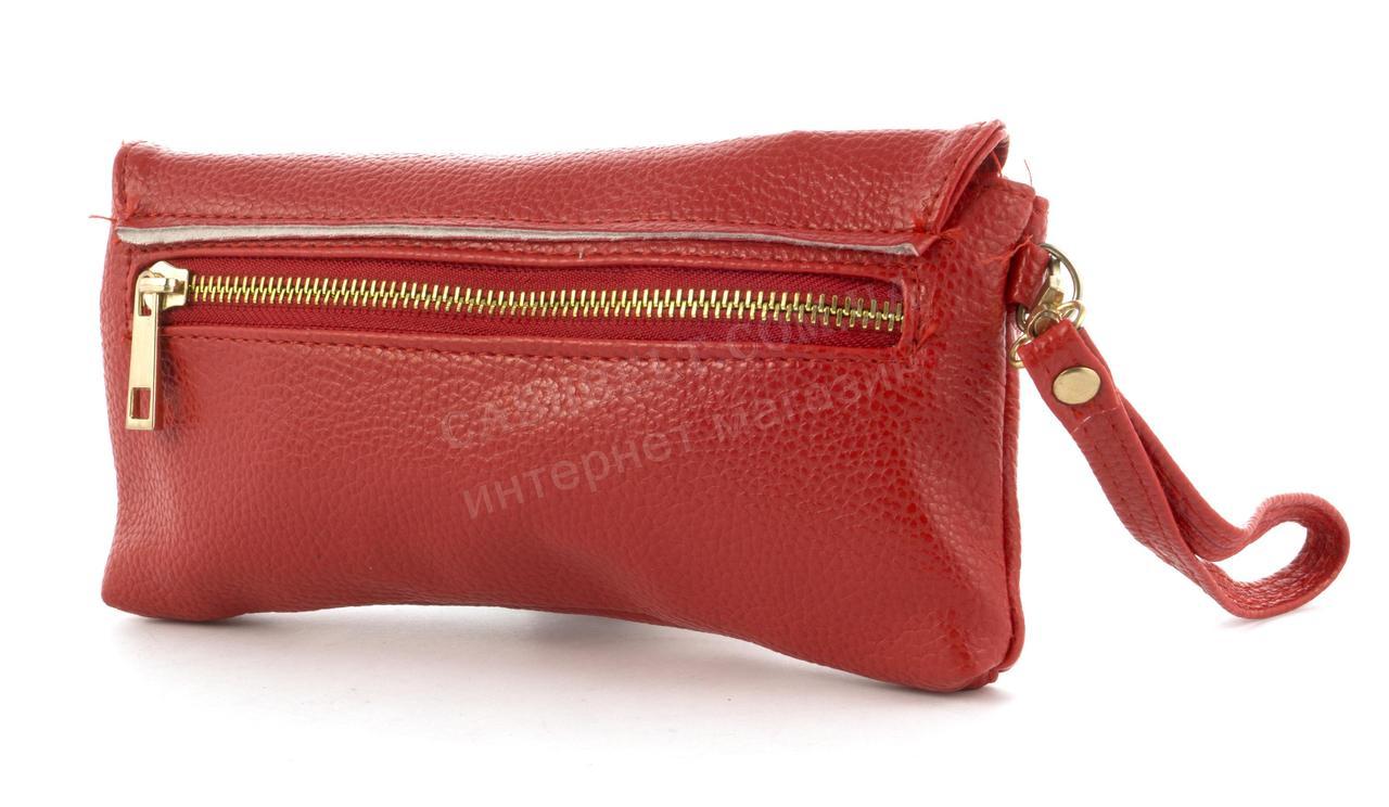 14d6e936a070 Небольшая сумочка клатч с ремешком на руку и плечевым ремнем красного цвета  уголок, цена 320 грн., купить в Виннице — Prom.ua (ID#604005663)