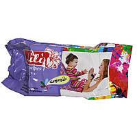 Салфетки влажные LiLi для детей с экстрактом ромашки 100шт.