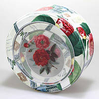 Металическая круглая подарочная коробка MT-145-03