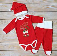 Детский рождественский набор с  олененком 68 см, фото 1