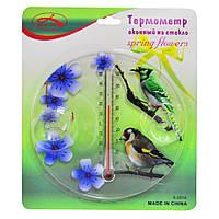 Термометр оконный на стекло Spring flowers