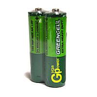 Батарейки АА Greencell 2шт./уп. R6  (пальчиковые)