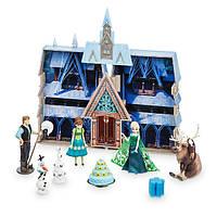 Disney Игровой набор Замок Арендель с Анной, Эльзой и Кристоффом Store Frozen Fever Water Color Changing Playset