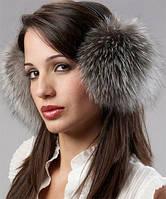 Наушники Зимние Меховые,натуральный мех