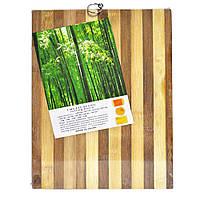 Доска разделочная бамбуковая 36х26 см