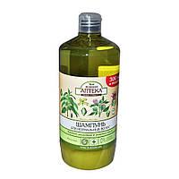 Шампунь для нормальных волос Зелёная аптека (крапива двудомная и репейное масло) 1л