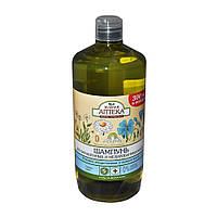 Шампунь для окрашенных и мелированных волос Зелёная аптека (ромашка лекарств. и льняное масло) 1л