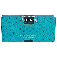 Салфетки для лица Alokozay отрывные белые в цветной коробке 70шт.