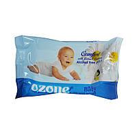 Салфетки влажные Ozone baby whith extract camomile  20шт.