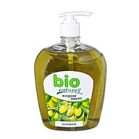 Жидкое мыло Bio Naturell оливка 1л с дозатором