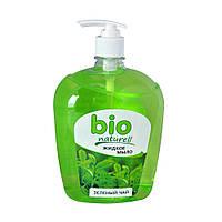 Жидкое мыло Bio Naturell зеленый чай 1л с дозатором